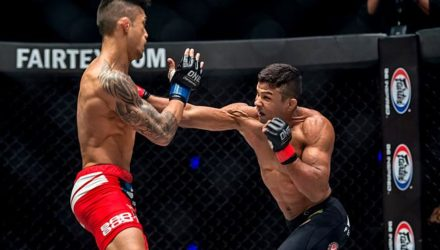 Bibiano Fernandes defeats Martin Nguyen at ONE: Iron Will