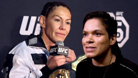 Cris Cyborg and Amanda Nunes