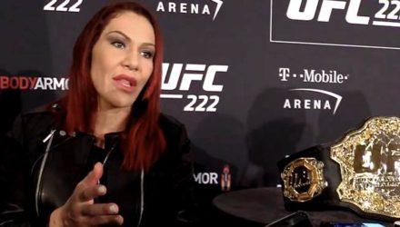 Cris Cyborg UFC 222 Media Day weight cutting