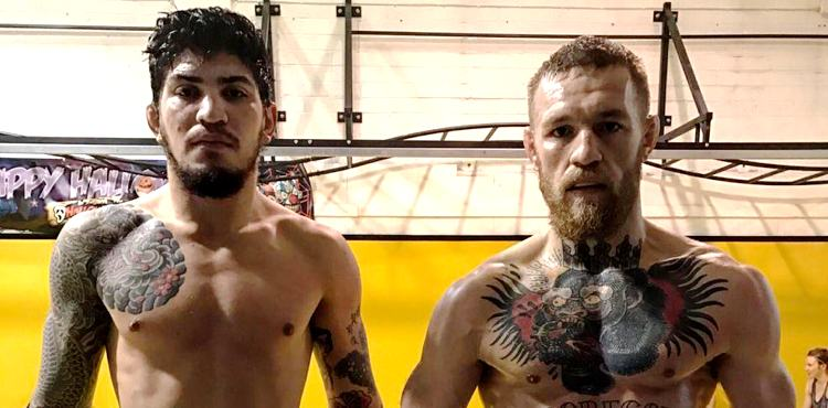 Dillon Danis and Conor McGregor - SBG Ireland Teammates