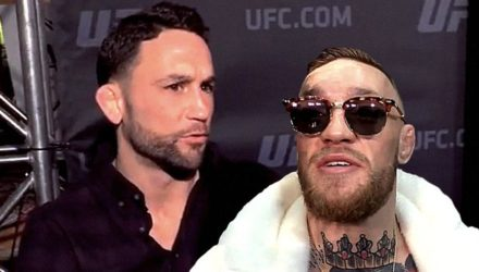 Frankie Edgar and Conor McGregor UFC 222 fight talks