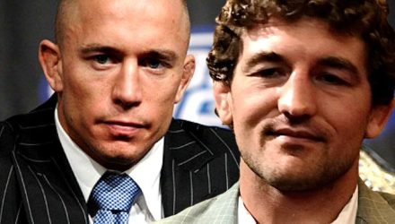Georges St-Pierre and Ben Askren