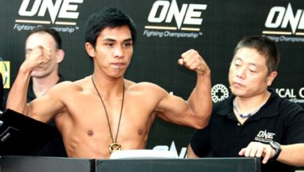 Kevin Belingon - ONE Championship weigh-in