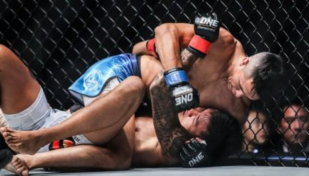 Reece Mclaren finishes Gianni Subba at ONE: Visions of Victory