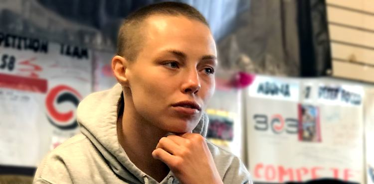 Rose Namajunas - UFC 223 Gym Day - Serious