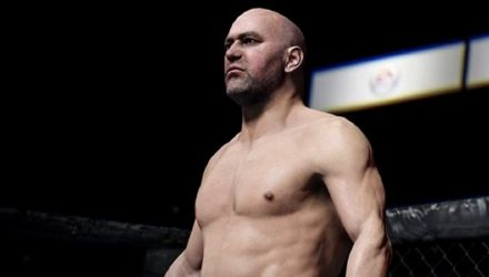 UFC President Dana White UFC 3 Video Game Character