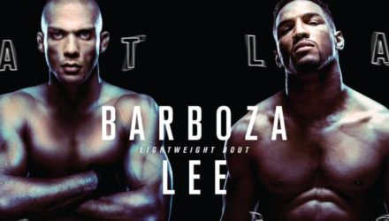 UFC Fight Night 128 Atlantic City Barboza vs. Lee Fight Poster