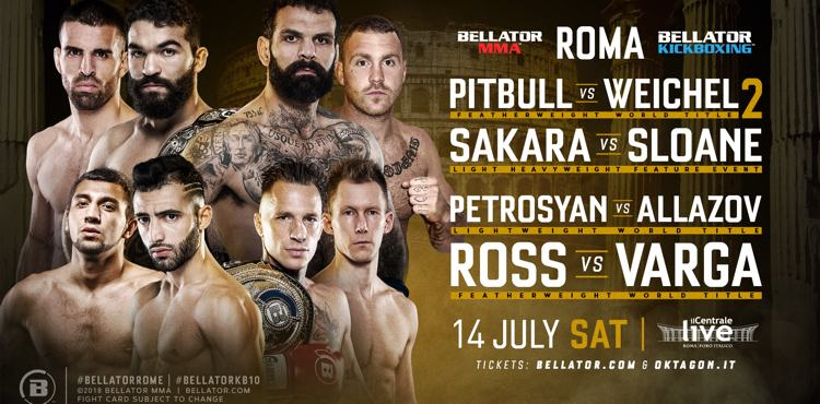 Bellator Rome Horizontal Fight Poster
