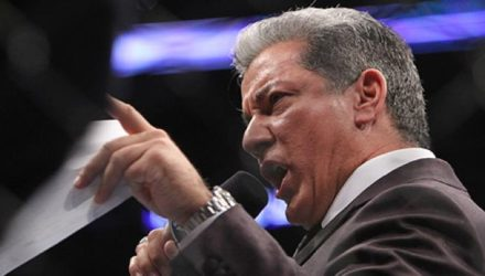 Bruce Buffer at UFC on FOX 4