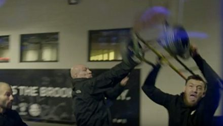 Conor McGregor Hurling Dolly UFC 223 Embedded