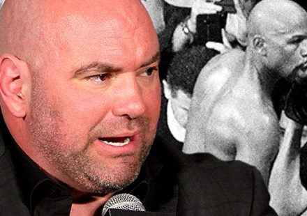 Dana White angry and Floyd Mayweather