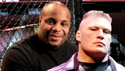 Daniel Cormier and Brock Lesnar