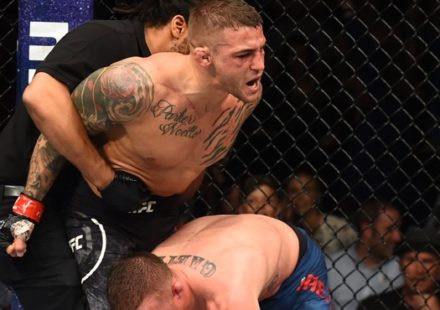 Dustin Poirier defeats Justin Gaethje at UFC on FOX 29