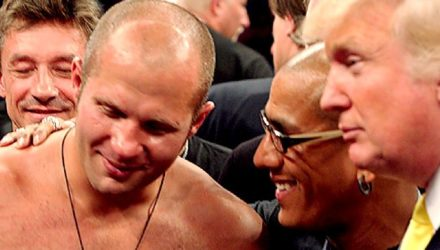 Fedor Emelianenko and Donald Trump - Affliction 1