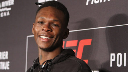 Israel Adesanya at UFC on FOX 29