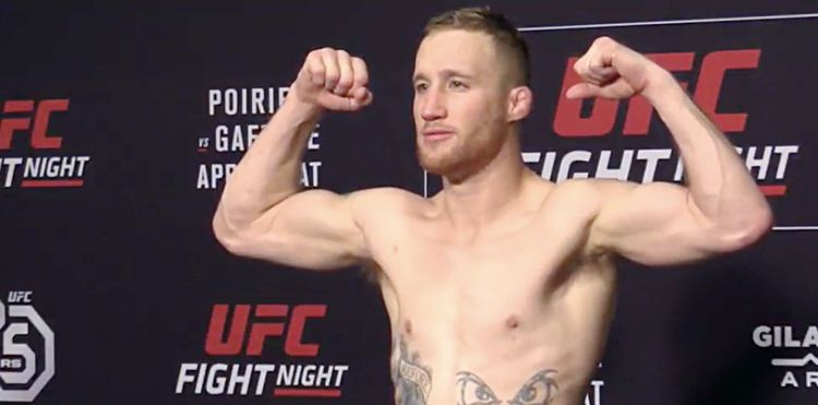 Justin Gaethje - UFC on FOX 29 weigh-in