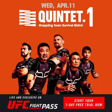 Quinte.1 Fight Pass Poster