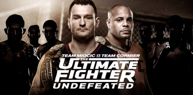 The Ultimate Fighter Undefeated TUF 27 Miocic vs Cormier