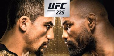 UFC 225 Whittaker vs Romero 2 Fight Poster