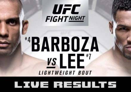 UFC Fight Night 128 Live Results