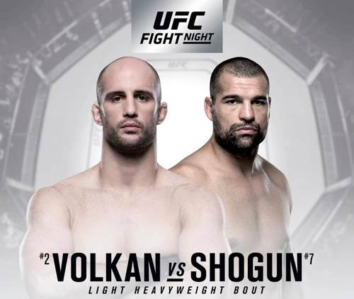 UFC Fight Night - Oezdemir vs Shogun Poster