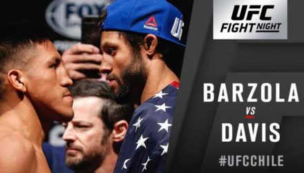 Barzola vs Davis at UFC Chile