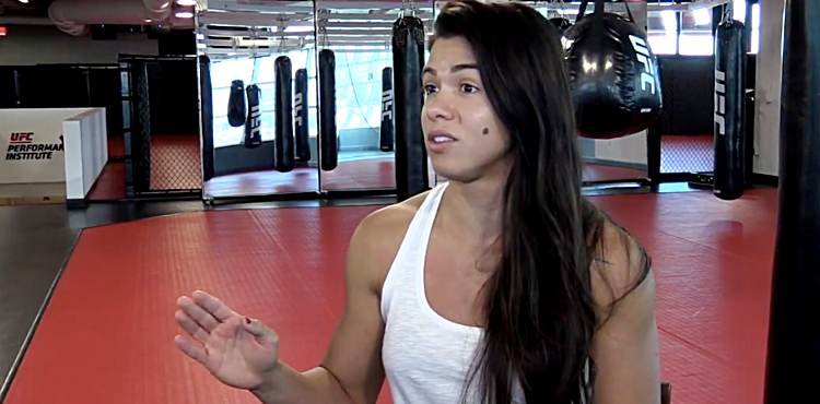 Claudia Gadelha ahead of UFC 225