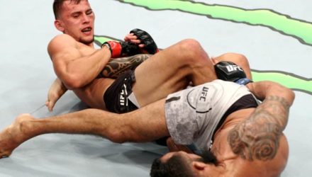 Claudio Puelles submits Falipe Silva - UFC Chile Highlights