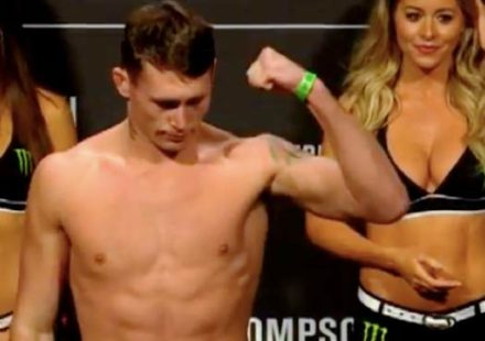 Darren Till - UFC Liverpool Weigh-ins