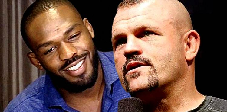 Jon Jones and Chuck Liddell