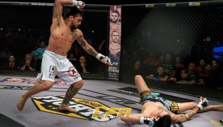Kevin Aguilar finishes at LFA 40