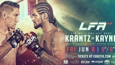 LFA 42 Krantz vs Kayne Fight Poster