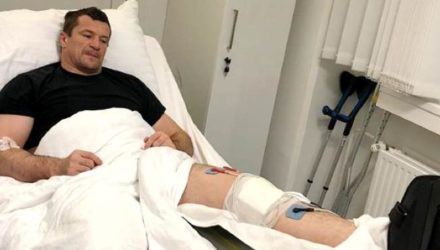 Mirko Cro Cop Bellator 200 knee surgery