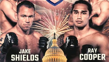 PFL 3 Jake Shields vs Ray Cooper Fight Poster