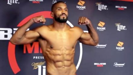Rafael Carvalho Bellator 200 weigh-in