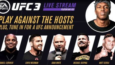 UFC 3 Twitch Live Stream with Dana White