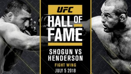 UFC Hall of Fame Shogun vs Henderson UFC 139