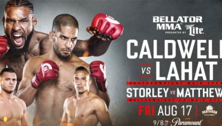 Bellator 204 Caldwell vs Lahat Fight Poster