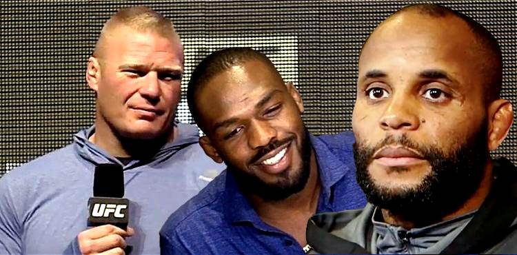 Brock Lesnar - Jon Jones - Daniel Cormier