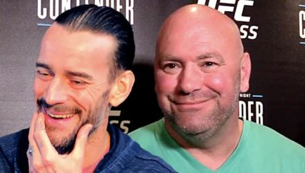 CM Punk and Dana White