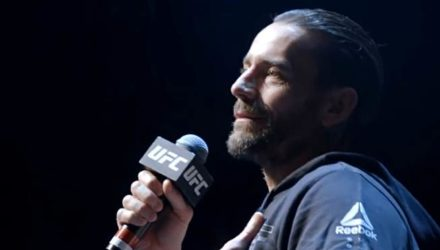 CM Punk at UFC 225 Open Workouts