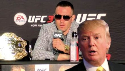Colby Covington and Donald Trump
