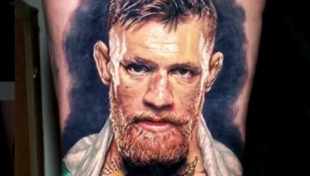 Conor McGregor tattoo by Steve Butcher