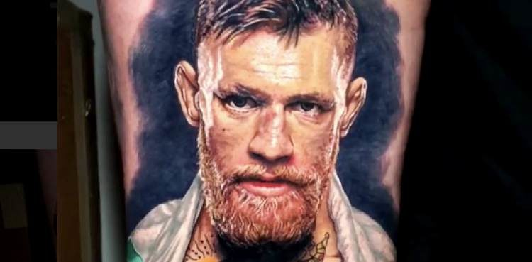 Is This The Best Conor Mcgregor Tattoo Ever Mmaweeklycom
