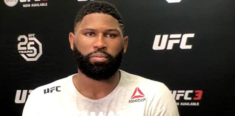 Curtis Blaydes UFC 225 Post-Fight