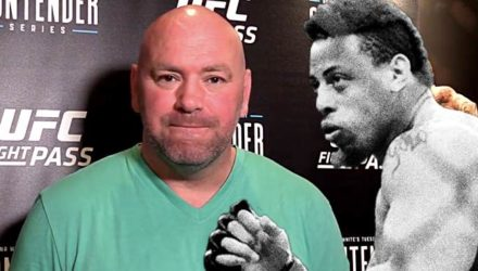 Dana White and Greg Hardy at DWTNCS