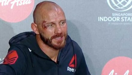 Donald Cerrone UFC Singapore Post-Fight
