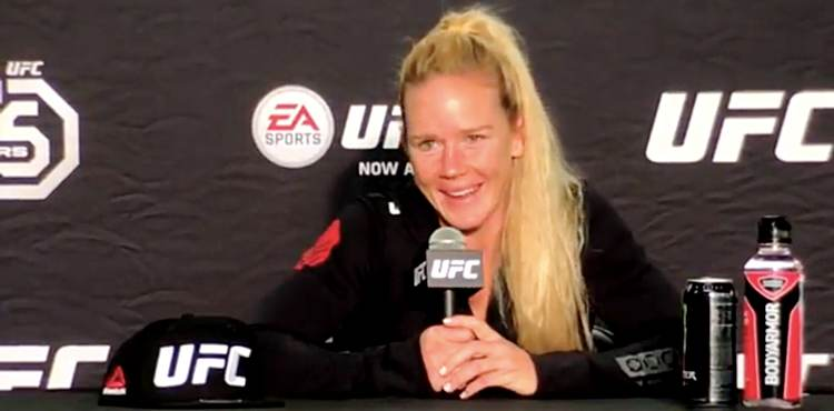 Holly Holm UFC 225 Post-Fight