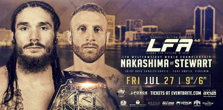 LFA 46 Nakashima vs Stewart Fight Poster