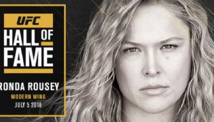 Ronda Rousey - UFC Hall of Fame